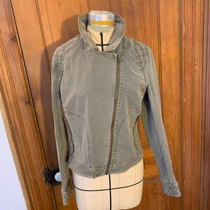 Anthropologie khaki jacket